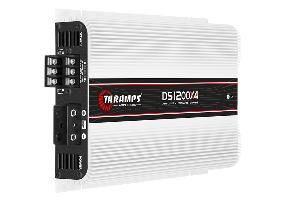 Taramps DS 1200x4 2 Ohms 4 Channels 1200 Watts Amplifier