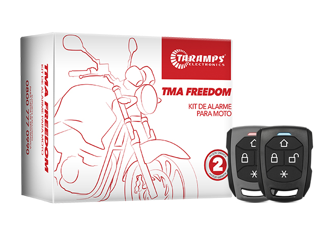 Alarms for motorcycles